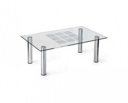 Стеклянный журнальный стол  магазине пенза